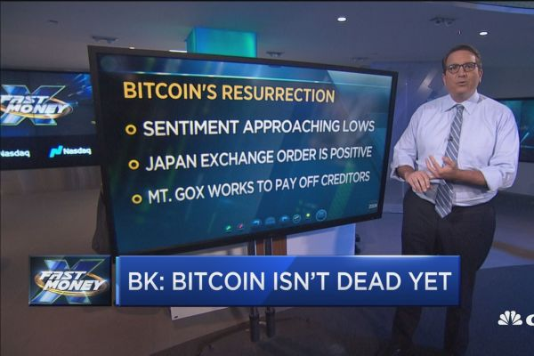 Bitcoin falls below $6,000. But crypto trader says it's 'not dead